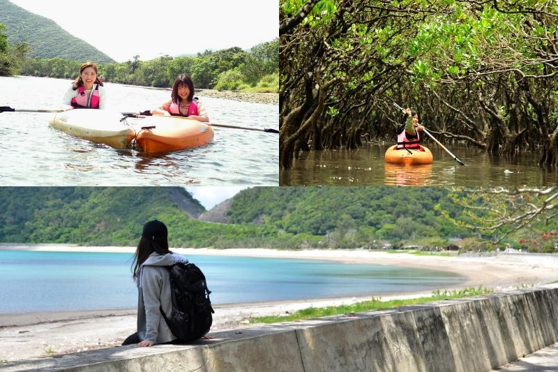 マングローブカヌーと加計呂麻島ツアー